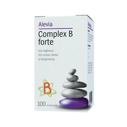 Imagine ALEVIA COMPLEX B FORTE X 100 COMPRIMATE