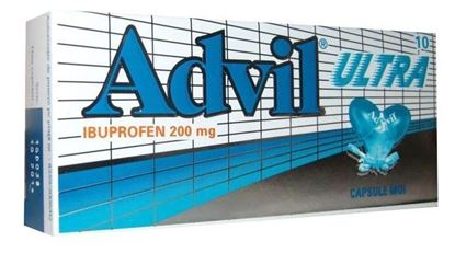Imagine ADVIL ULTRA 200MG X 10 CAPSULE MOI