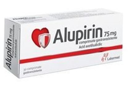Imagine ALUPIRIN 75MG X 30 COMPRIMATE GASTROREZISTENTE LABORMED