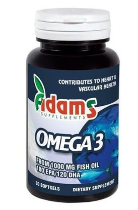 Imagine ADAMS VISION OMEGA 3 1000MG X 30 CAPSULE