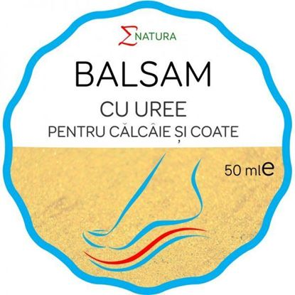 Imagine ENATURA BALSAM CU UREE PENTRU CALCAIE SI COATE X 50ML