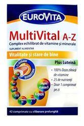 Imagine EUROVITA MULTIVITAL A-Z X 42 COMPRIMATE