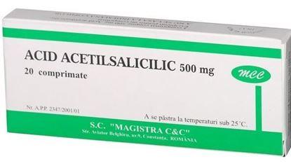 Imagine ACID ACETILSALICILIC 500MG X 20 COMPRIMATE MAGISTRA