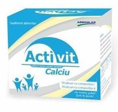 Imagine AESCULAP ACTIVIT CALCIU X 20 PLICURI