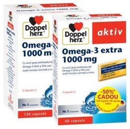Imagine DOPPEL AKTIV OMEGA-3 EXTRA 1000MG X 120 CAPSULE (+ 60 CAPSULE GRATIS)