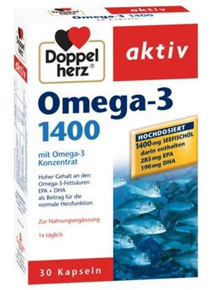 Imagine DOPPELHERZ AKTIV OMEGA 3 1400MG X 30 CAPSULE