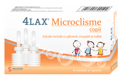 Imagine 4LAX MICROCLISME COPII X 6 BUCATI