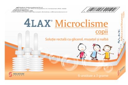 Imagine 4LAX MICROCLISME COPII X 6 BUCATI