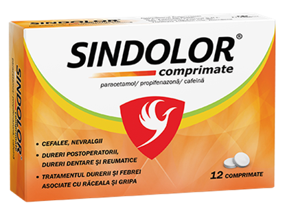 Imagine FITERMAN SINDOLOR X 12 COMPRIMATE