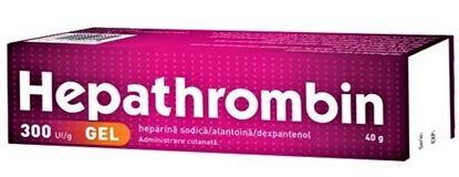 Imagine HEPATHROMBIN GEL 300UI/G X 40 GRAME HEMOFARM