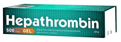Imagine HEPATHROMBIN GEL 500UI/G X 40 GRAME HEMOFARM