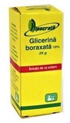 Imagine HIPOCRATE GLICERINA BORAXATA 10% X 25 GRAME