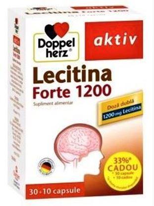 Imagine DOPPELHERZ AKTIV LECITINA FORTE 1200 X 30 CAPSULE (+10 CAPSULE GRATIS)