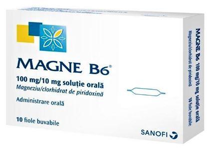 Imagine MAGNE B6 SOLUTIE BUVABILA 10ML X 10 FIOLE SANOFI