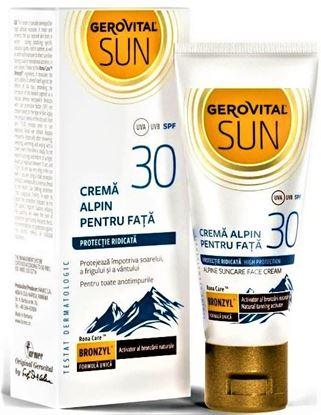 Imagine GEROVITAL SUN CREMA ALPIN PENTRU FATA SPF30 X 30ML