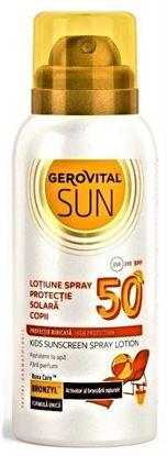 Imagine GEROVITAL SUN LOTIUNE SPRAY PENTRU PROTECTIE SOLARA COPII SPF50 X 100ML