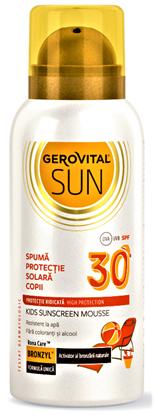 Imagine GEROVITAL SUN SPUMA PENTRU PROTECTIE SOLARA COPII SPF30 X 100ML
