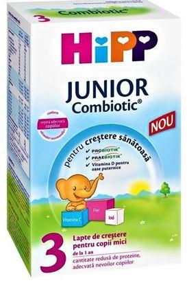 Imagine HIPP LAPTE DE CRESTERE 3 JUNIOR COMBIOTIC X 500 GRAME