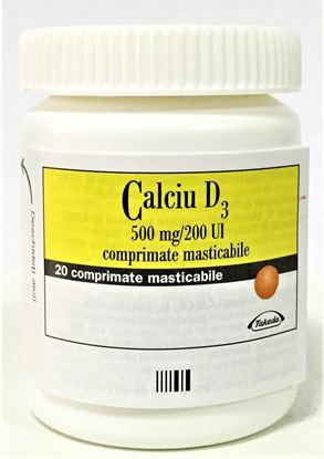 Imagine CALCIU+D3 500MG X 20 COMPRIMATE MASTICABILE TAKEDA
