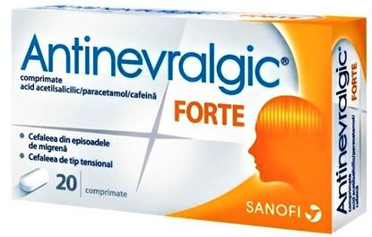 Imagine ANTINEVRALGIC FORTE X 20 COMPRIMATE  ZENTIVA