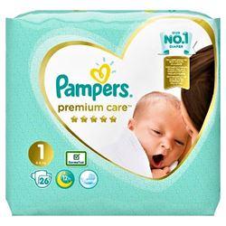 Imagine PAMPERS 1 (2-5KG) PREMIUM CARE NEWBORN X 26 BUCATI